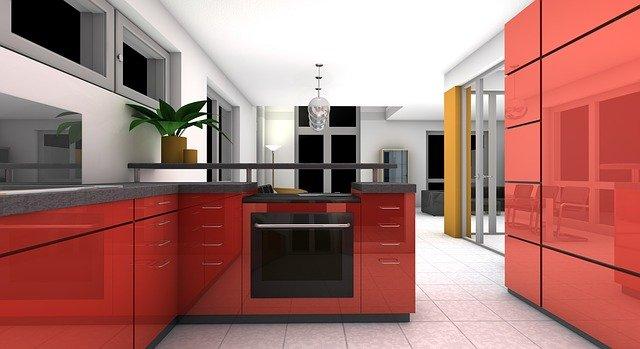 rozplanowanie kuchni